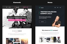 Combo#3 - B2+B3 - 14 Email Templates by  in MailChimp