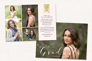 Graduation Announcement CG045
