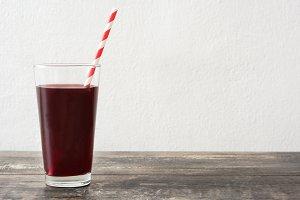 Berries fruit smoothie