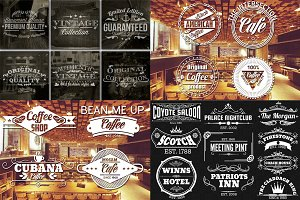 150 Labels and Badges Bundle