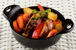 Colorful Vegetables Ragout