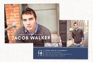 Graduation Announcement Card CG041