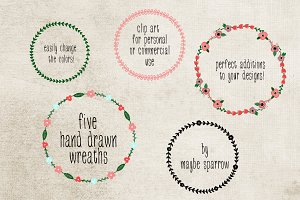 Organic Wreaths and Laurels
