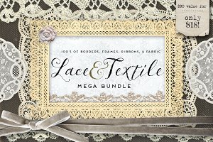 Lace & Textile Mega Bundle