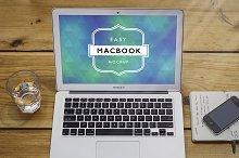 Mockup Macbook Air 7