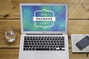 Mockup Macbook Air 7