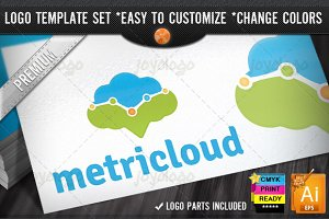 Metric Cloud Internet Marketing Logo