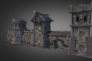Fantasy Stone Castle