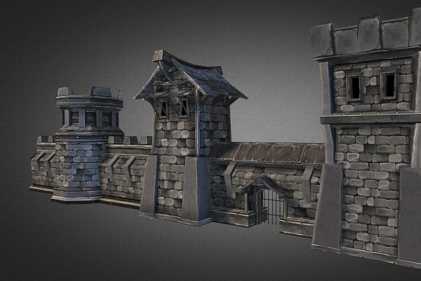 3D Architecture: GamePoly - Fantasy Stone Castle