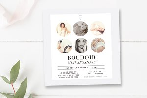 5x5 Boudoir Marketing Board