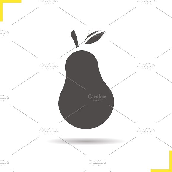 Pear icon. Vector - Icons