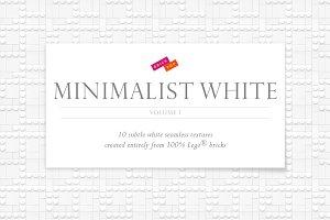 Minimalist White Seamless Patterns