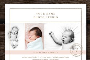 Newborn Photographer Pricing Guide