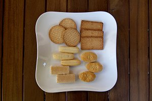 biscuits and cookies different forms