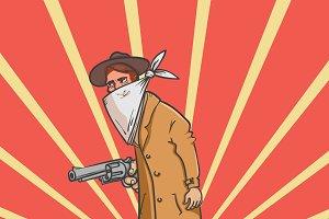 Wild west robbery