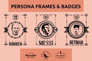 Persona Frames & Badges