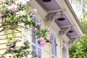New Orleans House in the Spring