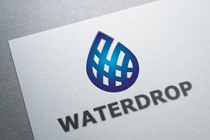 Waterdrop Logo Template