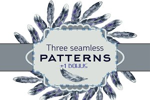 3 seamless pattern +bonus