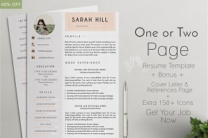 Professional Resume /CV Template - 9