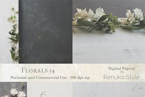 Florals 14 Backgrounds
