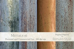 Metals 16 Digital textures