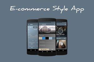 E-commerce Style App
