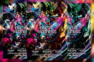 Digital Madness Flyer