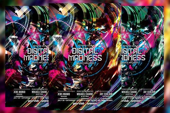 Digital Madness Flyer