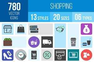 780 Shopping Icons
