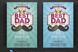 Fathers Day Flyer