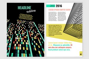 Business Brochure Design Concept