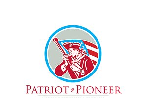 Patriot and Pioneer Craft Beer Logo