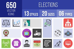 650 Elections Icons