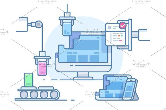 Website building design