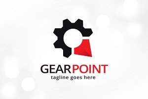 Gear Point Logo Template