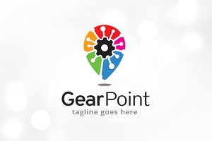Gear Center Logo Template