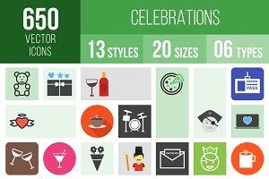 650 Celebrations Icons