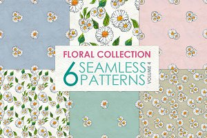 Floral Pattern Collection Vol. 4