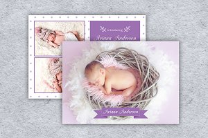 Birth Announcement Template-V13