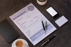 Client Contract / Booking Form-V308