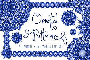 Oriental Patterns - Color Palette 2