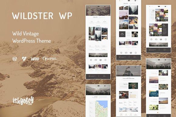 Wildster WP - Wild WordPress Theme