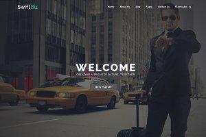 SwiftBiz - Business WordPress Theme