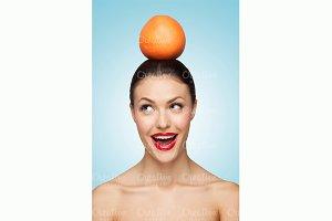 Funny fruit.