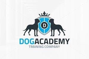 Dog Academy Logo Template