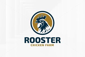 Rooster Logo Template