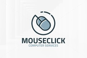 Mouse Click Logo Template