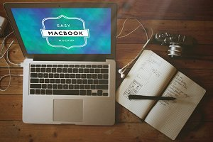 Mockup Macbook Pro 4