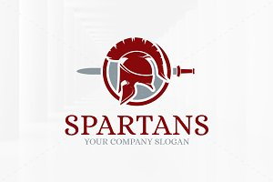 Spartans Logo Template